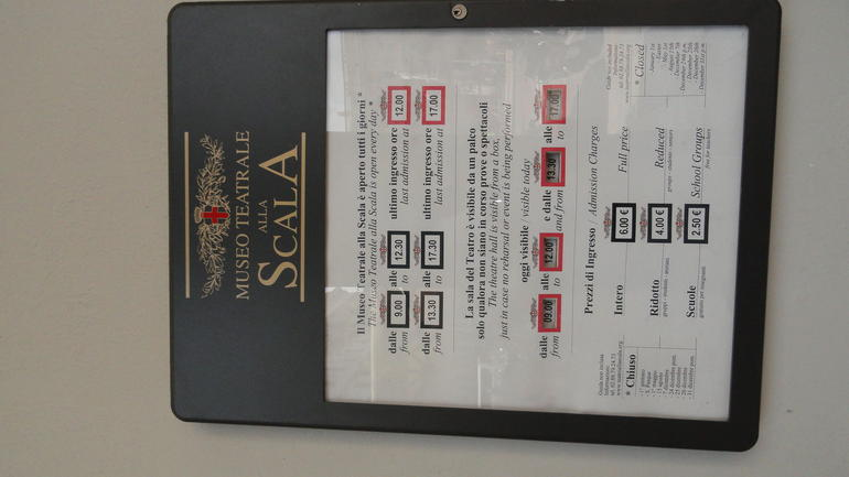 La Scala Theatre - Milan