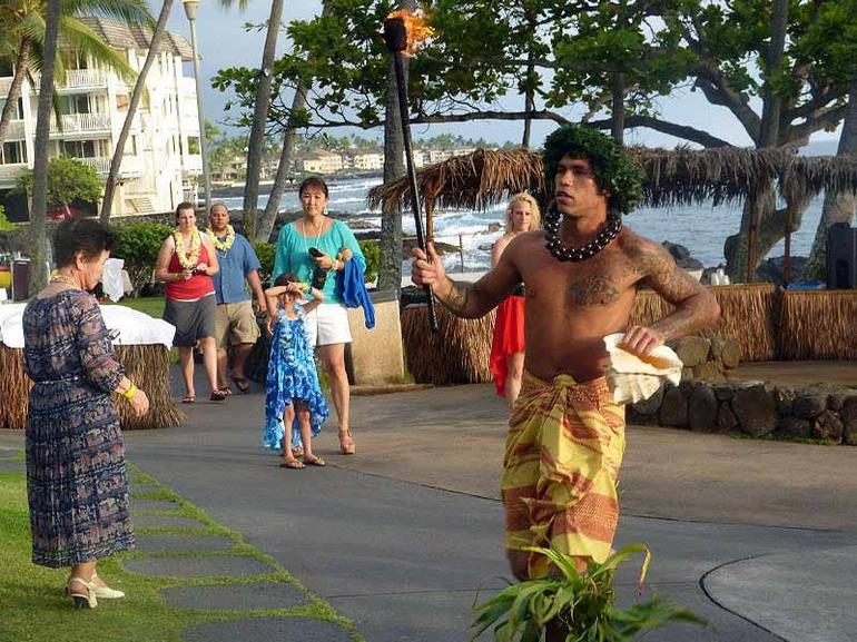 male dancer - Big Island of Hawaii