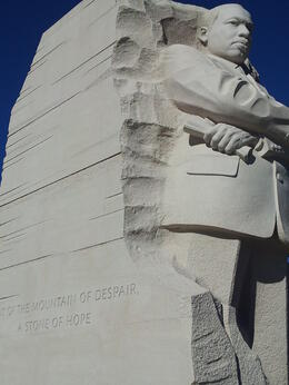Martin Luther King Memorial , Cara B - November 2014