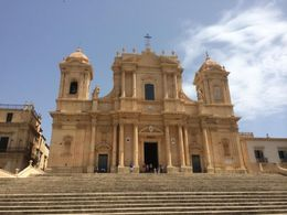The newest church in Noto, rebuilt after collapsing 20 years ago. , Robert D - July 2016