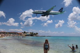 This can't really show how close these planes are. This beach was tons of fun! , Steven J - September 2014