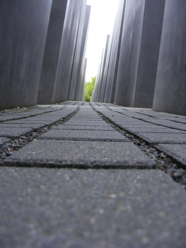 The holocaust memorial - Berlin