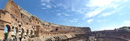 A picture from the upper tier of the Colosseum , Christer B - May 2015