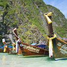 De Krabi a las islas Phi Phi en lancha motora, Krabi, TAILANDIA