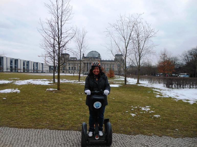 Yo en el tour - Berlin