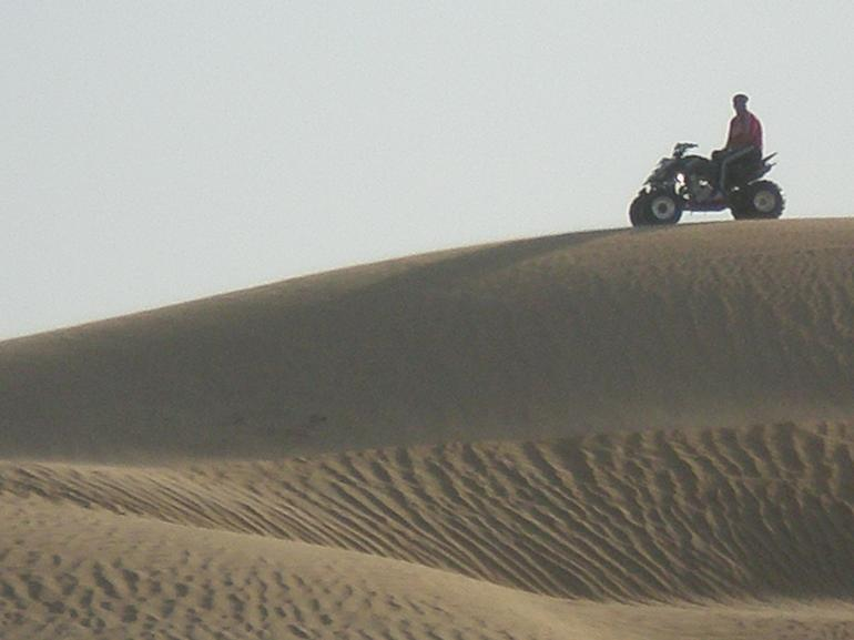 A local on their quad - Dubai