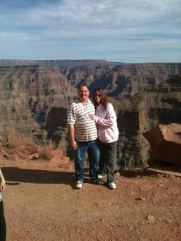 My husband and I on our honeymoon. Not for the squeamish, there are no railings along the canyon! , mssmel691 - February 2012