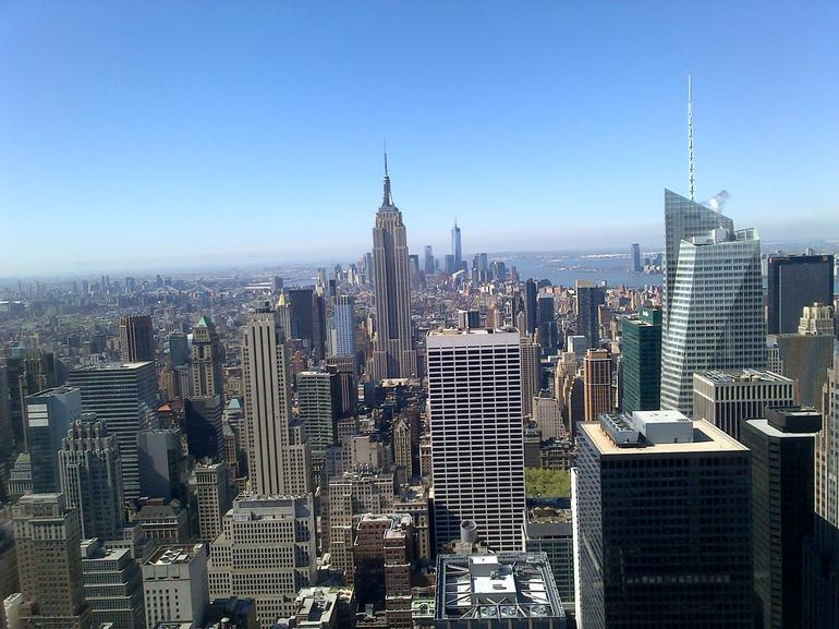 depuis le sommet!!!!! - New York City