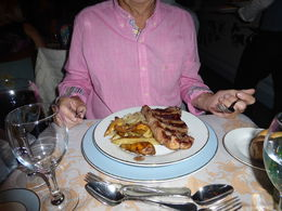 This is one of the most delicious steaks I have ever eaten and BIG!!! , Marie I - April 2016