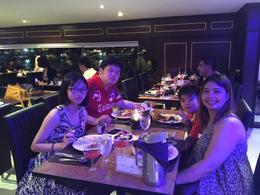 during our dinner with my Family , lab_c2000 - August 2016