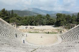 One of my shots of the remarkable Epidaurus. , Girl Intrepid - May 2011