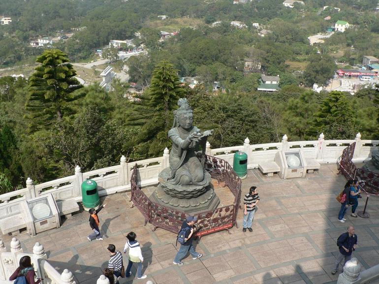 Female Maidens, Giant Buddha - Hong Kong