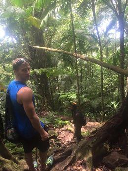 Al tour guide and I hiking back to the bottom. , brandi4589 - September 2015