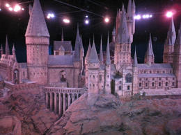 It was amazing to see a huge scale model of Hogwarts Castle in the tour. We had to walk around this model and was able to see a full 360 view of the castle. So amazing! A bonus: There was actually a ... , Angela F - November 2013