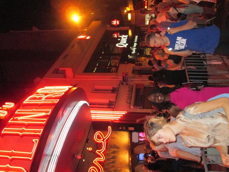 Leaving the Moulin Rougue - Paris
