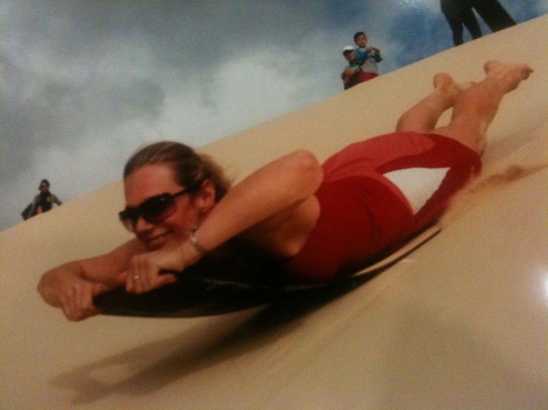 Sand Tobogganing - Brisbane