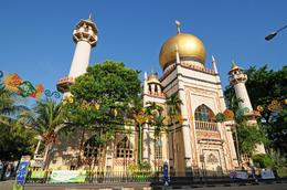Mosque on Arab Street - October 2012