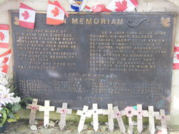 Memorial to the Murdered Canadian Soldiers , James W - May 2013
