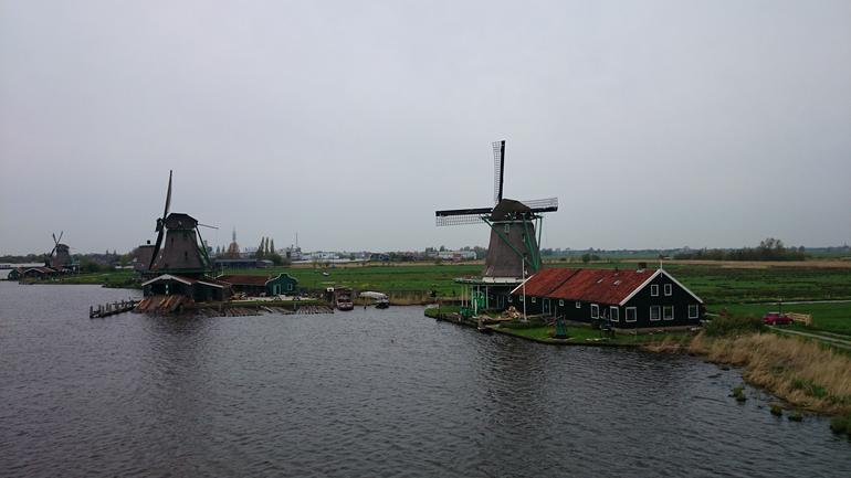 Windmills at Zaans Schans - Amsterdam