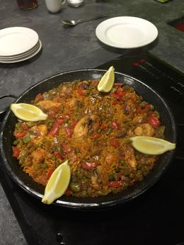 Paella! just perfect! , Mrs. Jo-Anne S - October 2016