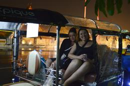 Tuk Tuk in the rain. Woo Hoo! , Jacqueline D - January 2017