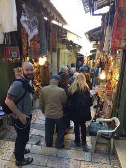 Jerusalem - Via Dolorosa , Tiberiu C - February 2017