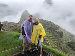 josh and i at the top of the world the inca world that is , Andres M - January 2018