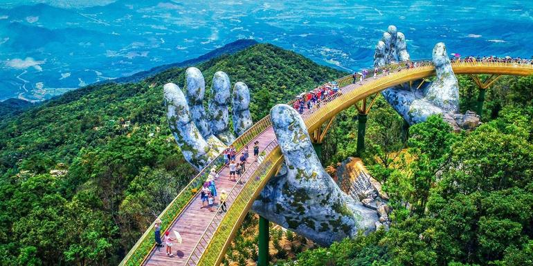Private Golden Bridge & Ba Na Hills Full Day Trip From Danang City photo 58