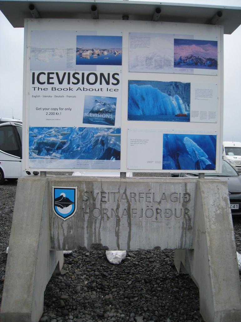at Jokulsarlon - Reykjavik