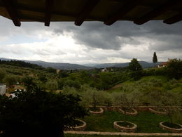 Just a short ride outside of Florence and here's what you see during the cooking class! , Nicole M - May 2015