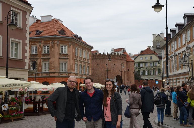 Private Tour: Warsaw City Sightseeing by Retro Fiat