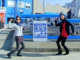 Muscle Beach Venice, Blanca - April 2012
