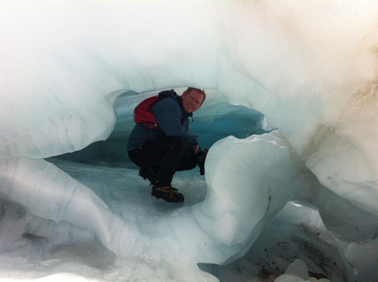 Exploring an Ice Cave - Franz Josef & Fox Glacier