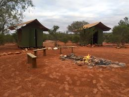 camping in style in tents or in swags by the camp fire! , jeanievan - September 2016