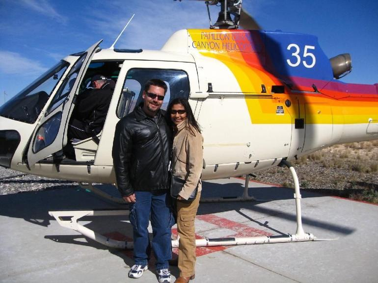 Helicopter ride over West Rim - Las Vegas