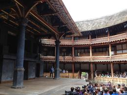 Touring the inside of the Globe., emmaknock - August 2016