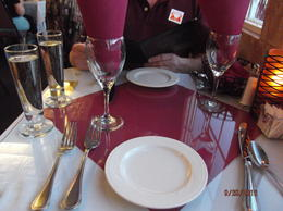 Our table for two. , rbund01 - October 2012