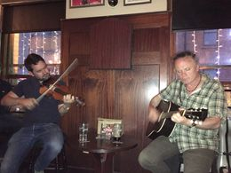 Two musicians from the music pub crawl. , Beth B - June 2016