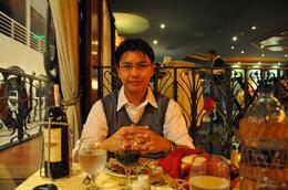 Gene having dinner at the Maxim..., Genesis A - May 2010