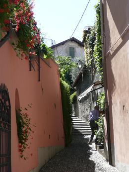 Typical Bellagio flower-festooned alleyway, HOWARD D - September 2010