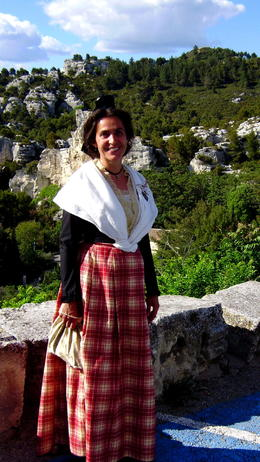 Native woman's costume from Le Baux de Provence. , Natalia D - May 2012