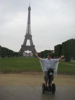 In front of the Eiffel Tower. , Alan S - July 2012