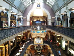 taken at QVB , very nice place to eat and relax and of course do some shopping , connie - March 2014