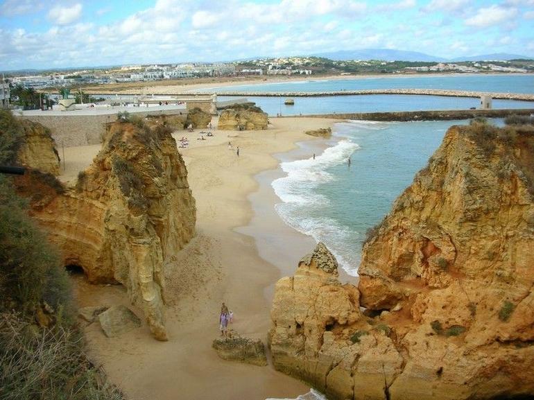 Rocks and beaches - The Algarve