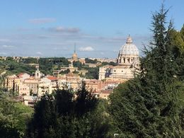 This was taken from one of Rome's less frequented parks that we stopped at on our bike tour. , Ken - October 2015