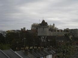 A good view of Windsor Castle, suggested by the tour guide., KA HANG H - November 2007