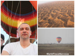 Wonderful hot air balloon flight , Petru Rosenthorn - May 2014