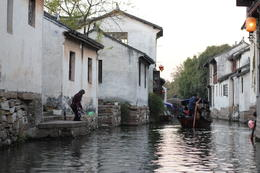 Zhouzhuang Water Village Tour, JennyC - December 2013