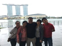 from L-R, daughter, mother, me, wife and son , FLORANTE A - January 2017