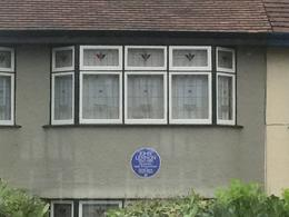 The house where Lennon lived with aunt Minnie , Nico P - January 2017